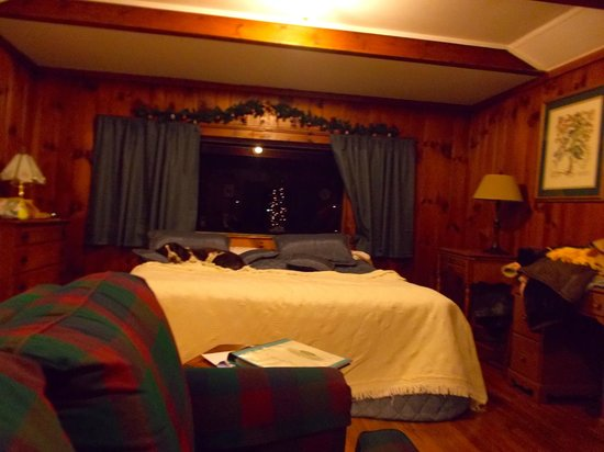 The Pines Cottages: HUGE BED!!!!