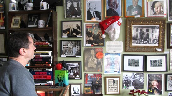 Bodega Country Store: HERO  wall with memorabilia