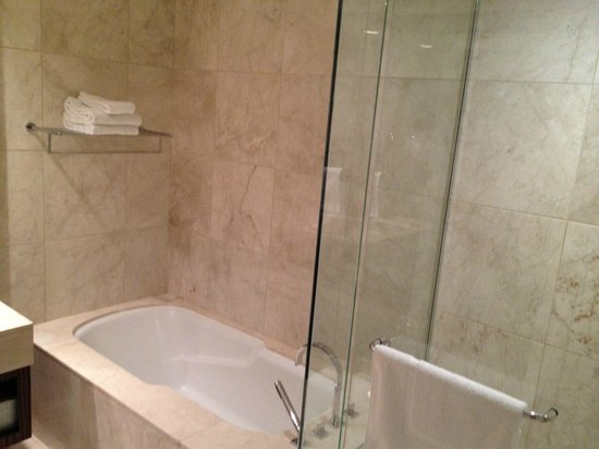 ‪‪L'Hermitage Hotel‬: Shower/Tub‬