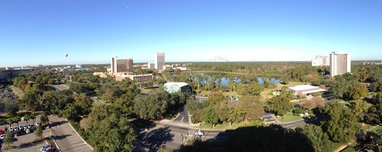 Holiday Inn Orlando – Disney Springs Area: View from our Balcony