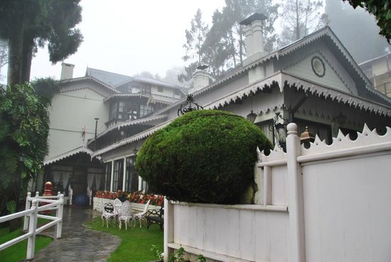 The Elgin, Darjeeling: Outside