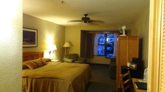 Wuksachi Lodge: Zimmer 2