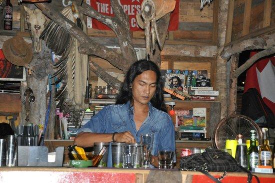 Warung Janggus: One of the bartenders
