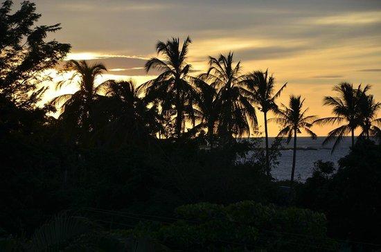 BEST WESTERN Tamarindo Vista Villas: vista desde el comedor/terraza