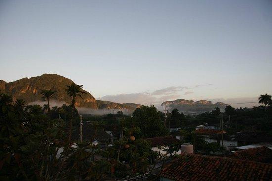 Casa Particular Ridel y Claribel: Widok z tarasu