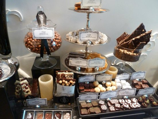 The Adelaide Hotel, Toronto: Chocolate display at Stock