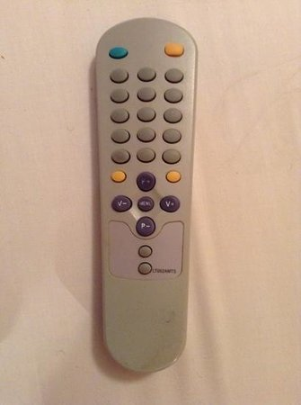 Bay Gardens Beach Resort: TV remote.