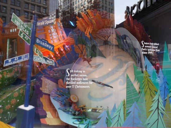 Macy's Herald Square: One of many window displays