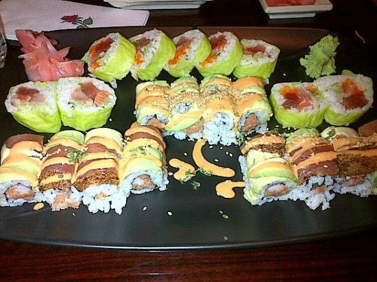 Morrisville, Πενσυλβάνια: Fantastic roll, ci ci roll, pepper tuna roll