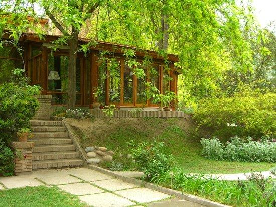 Casa Glebinias: the main house/reception