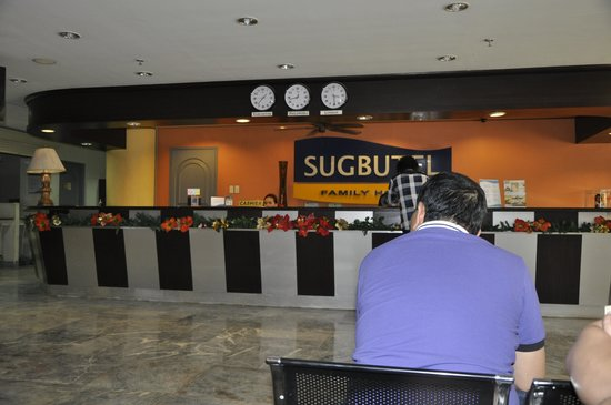 Sugbutel Family Hotel: reception