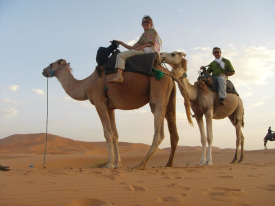 Sahara Treasures Day Tours : Camelleando en el Sahara