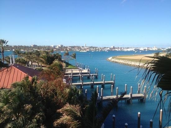 Atlantis - Harborside Resort: view from balcony