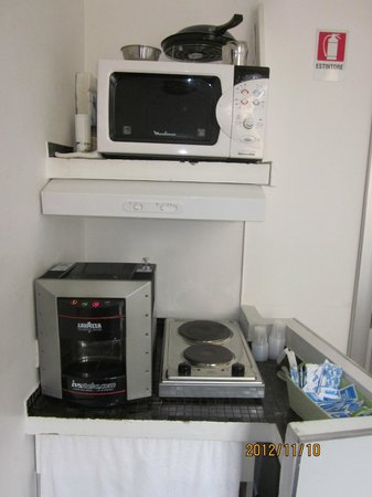 WRH Suites: Microwave and coffee maker available