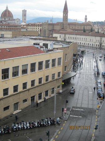 Delle Nazioni Hotel: View from Balcony