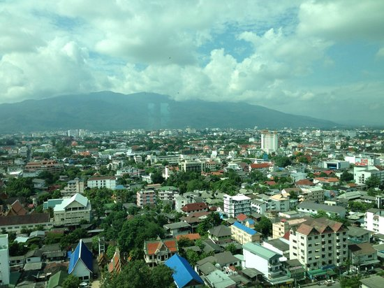 Le Meridien Chiang Mai: View from level 20
