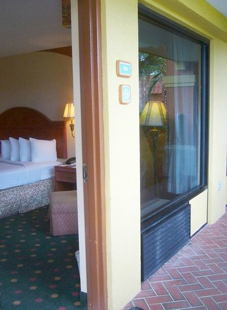 BEST WESTERN St. Augustine Beach Inn: Guest room entry