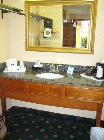 BEST WESTERN St. Augustine Beach Inn: Vanity & wash basin
