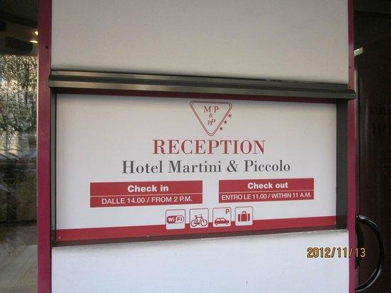 โรงแรมมาร์ตินี่: Hotel