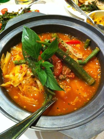 Dancing Fish: Okra based stew
