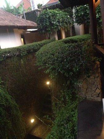 Villa di Abing: stair area