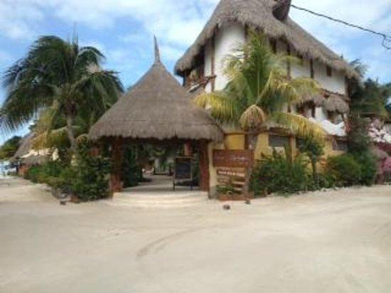 Holbox Hotel Casa las Tortugas - Petit Beach Hotel & Spa: Fachada principal