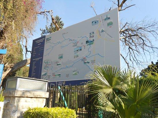 Taxila Ruins: kaart van de omgeving 