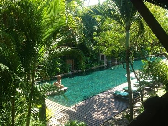 Belmond La Residence d'Angkor: the swimming pool