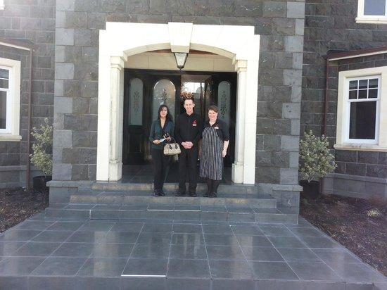 Camp Estate at Larnach Castle: Entrance
