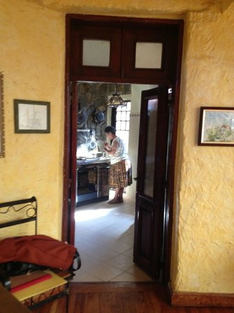 AREQU Guest House: A quick look into the kitchen