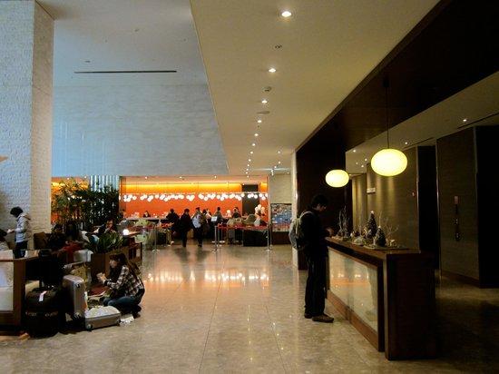 Hotel Sunroute Plaza Shinjuku : hotel lobby