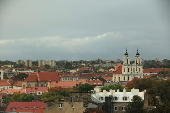 Novotel Vilnius: A view from the room No. 927