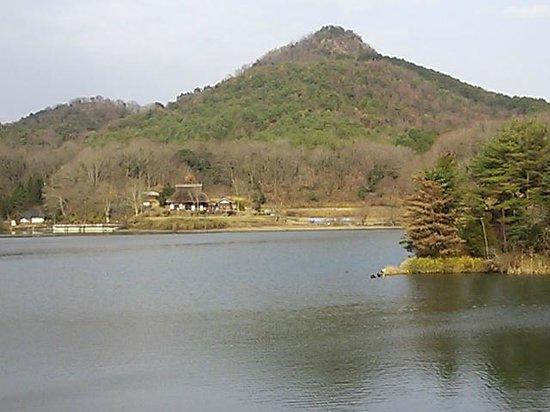 Sanda, Japan: 有馬富士を望む