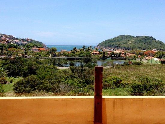 Pousada de Charme Outre Mer: Vista dalla sala della colazione