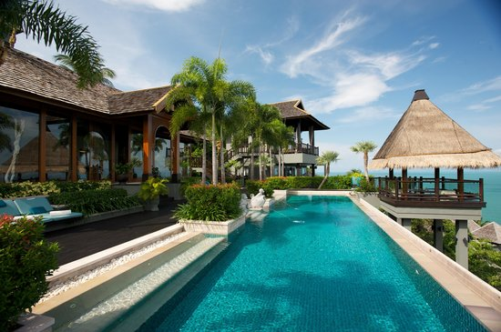 Four Seasons Resort Koh Samui Thailand: Main Lounge & Dining Pavilion