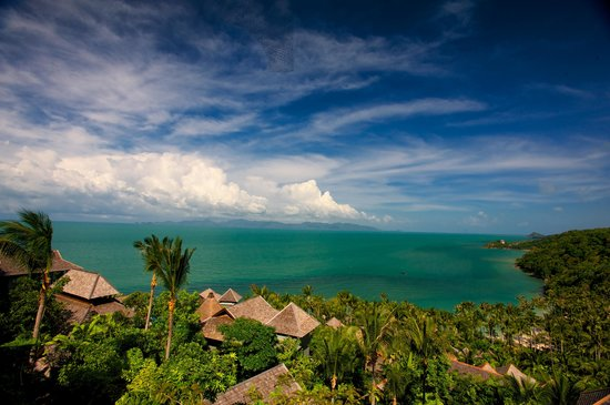 Four Seasons Resort Koh Samui Thailand: The View