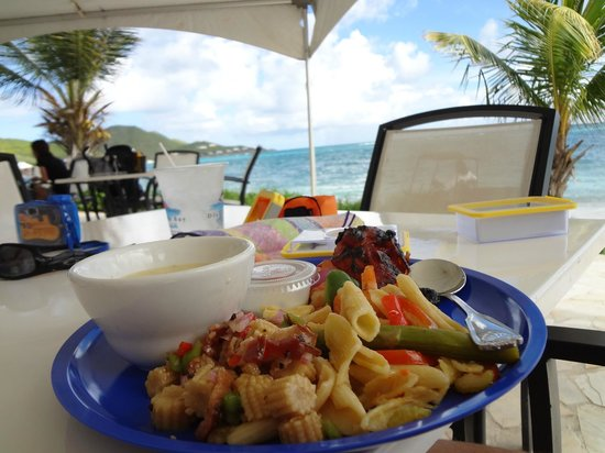 Divi Carina Bay All Inclusive Beach Resort : Lunch Buffet