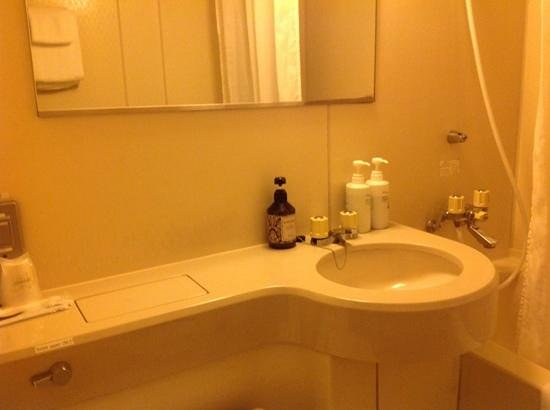 Ueno New Izu Hotel : Pre fab bathroom