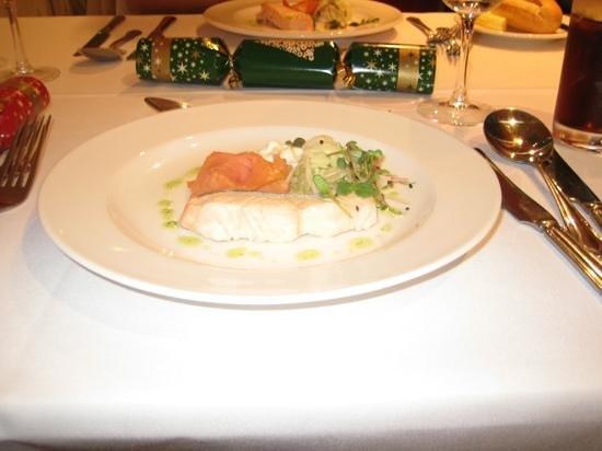 Oscar's Restaurant: salmon selection starter