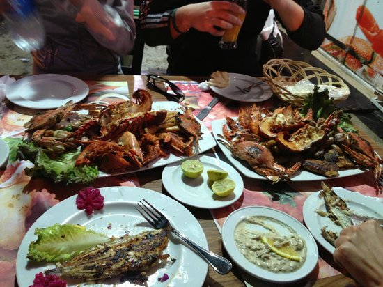 Fares Seafood : второе