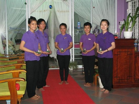 Phuoc Lavender Spa: A warm welcome awaits you from our fully trained staff