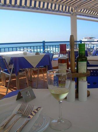Restaurante El Mirador: Terraza.