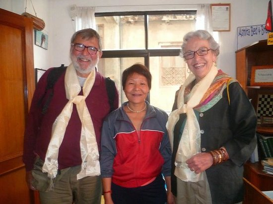 Asmita Bed & Breakfast: Nepalese hospitality at its best. Thank you Asmita!
