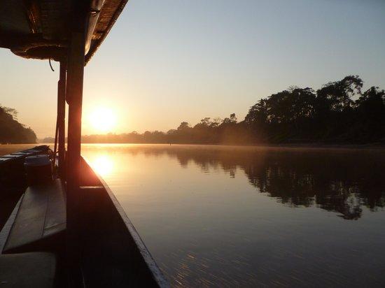 Refugio Amazonas: sunrise