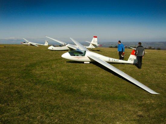 Chopwell, UK: Northumbria Gliding Club
