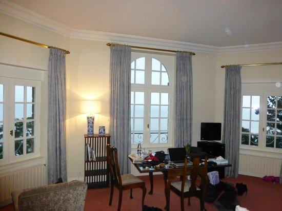 Chateau Richeux: Chambre