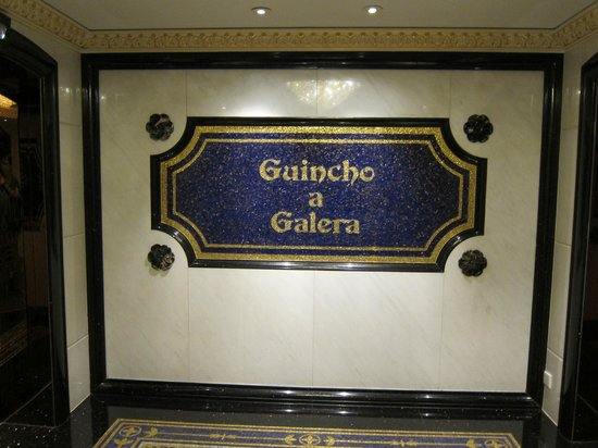Guincho a Galera: It's where the old Robuchon located