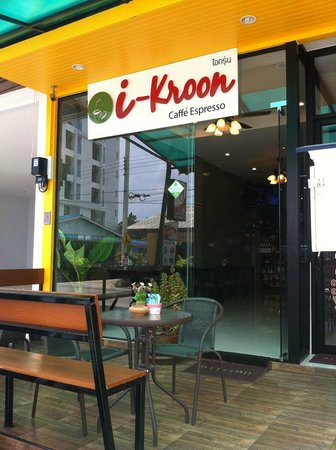 i-Kroon Cafe & Hotel: In Front i-kroon cafe espresso