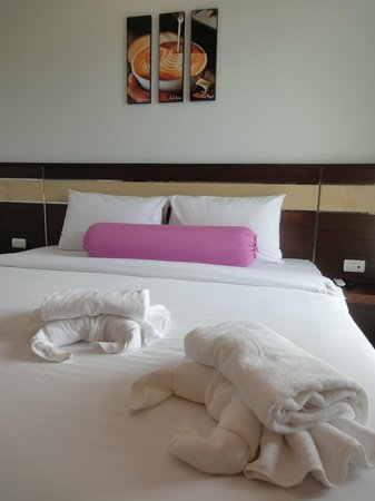 i-Kroon cafe Espresso & Boutique Hotel: room interior