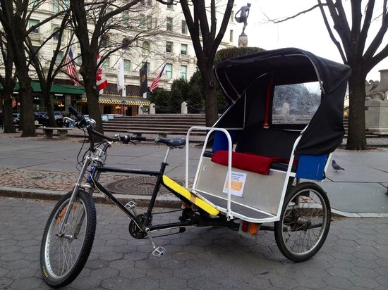 All Around Central Park Pedicab Tours